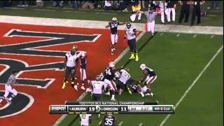 Auburn Vs Oregon 2011 BCS National Championship NCAA Football Highlights