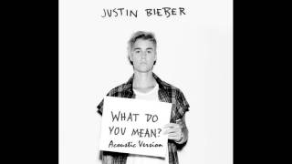 Justin Bieber - What do you mean | Acoustic Version