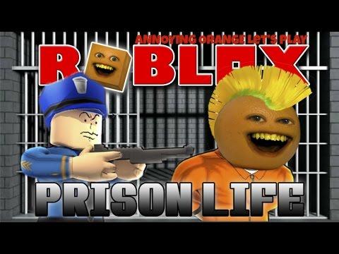 Annoying Orange Plays ROBLOX Prison Life