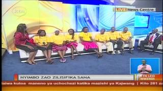 Wanamziki wa enzi Emali town choir Kwenye KTN studio