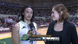 Best Player: Terrence Romeo | PBA  Commissioner's Cup 2017