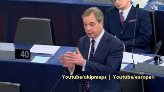 Nigel Farage exposes George Soros: The biggest international political collusion in history