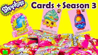 Shopkins Collector Cards With Season 3 C Years Ago