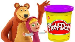 Masha & The Bear Маша и Медведь Masha Y El Oso Masha Play Doh Cartoons Stop Motion