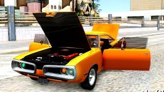 1970 Dodge Charger R T dominic toretto FnF 7 - GTA San Andreas