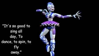 Ballora real voice from Five Nights at Freddy's: Sister Location