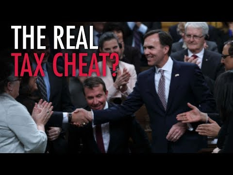 Morneau shelters income in numbered companies while bullying