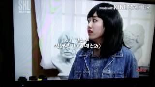(은유)snl써니:I.O.I김소혜 빙의연기(입덕주의♡)