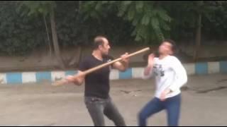 آموزش تخصصی دفاع شخصی با سلاح  استاد مدرس علی پوربایرام