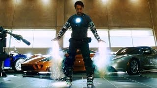 "Iron Man - ""Yeah, I Can Fly"" - First Flight Test (Scene) Iron Man (2008) Movie CLIP HD"