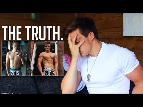 The Truth About My 1 Year Body Transformation..