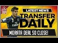 Alvaro MORATA to MANCHESTER UNITED for 70 Million! MUFC Transfer News