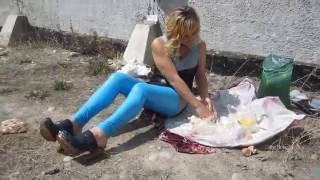 Natalia - Sahne, Fleisch und Crush in Clogs (cream and meat - messy and crush) - #046