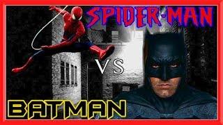 SPIDER-MAN vs BATMAN in Real Life | Superhero Battle