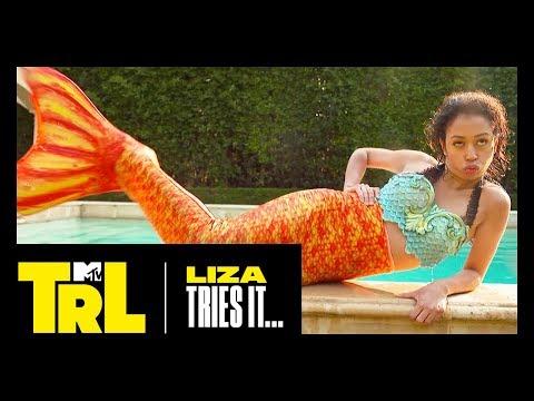 Xxx Mp4 Liza Koshy Gabbie Hanna Become Mermaids IRL Liza Tries It TRL 3gp Sex