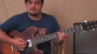 Sex Machine - Guitar Lesson - Funk Groove Concepts Electric