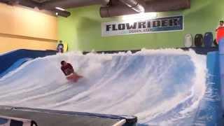 Pro Flowrider Contest Bodyboard finals Part 1