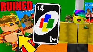 THIS GAME RUINS OUR FRIENDSHIP (Roblox Uno)