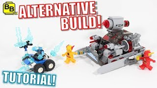 LEGO JUSTICE LEAGUE 76098 ALTERNATIVE BUILD CYBORG'S BATTLE TANK!