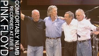 Pink Floyd - Comfortably Numb (Recorded at Live 8)