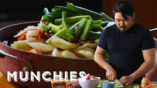 How to Make Braised Pork with Kimchi Pete