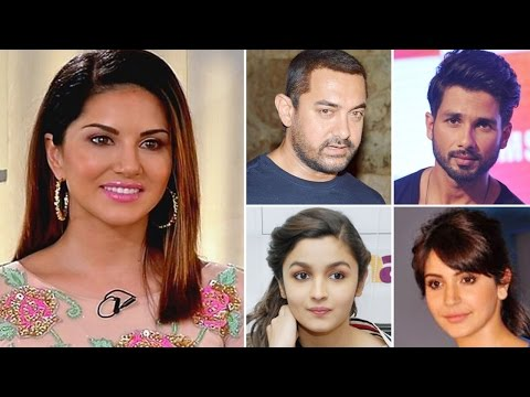 Sunny Leone gives its back in a FEARLESS Interview: Bollywood celebs SUPPORT