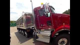 2014 Kenworth T800 Dump Walk-Around - Truck Enterprises