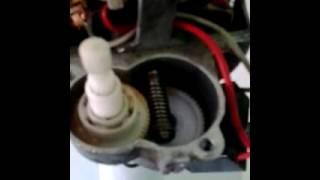 Lubrificação da engrenagem do sistema giratório do ventilador