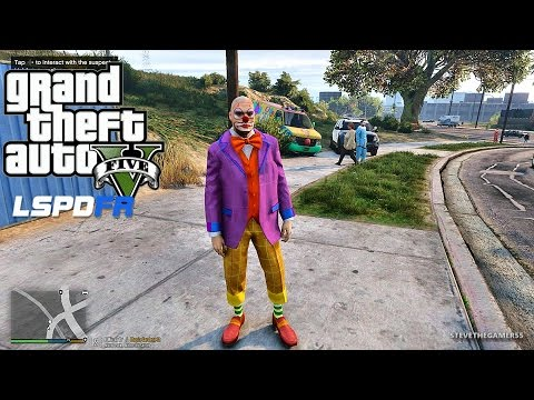 GTA 5 LSPDFR 0.3.1 - EPiSODE 211 - LET'S BE COPS - LS Clown Invasion (GTA 5 PC POLICE MODS) K9