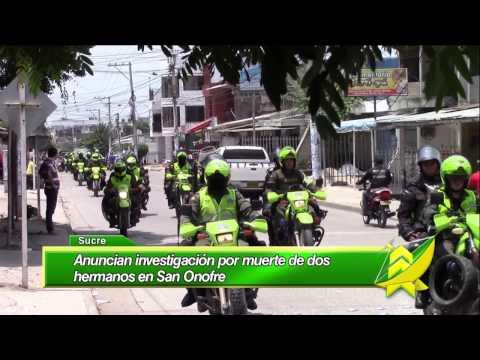 Anuncian investigación por muerte de hermanos en San Onofre Sucre