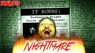 SO.MUCH.RAGE!!!1!11 | Five Nights At Freddy's 3 - NIGHTMARE MODE/NIGHT 6 COMPLETE
