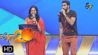 Karunya,Sunitha Performance - Orugalluke Pilla Song in Anantapur ETV @ 20 Celebrations