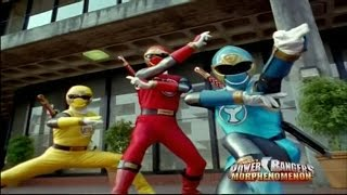 Power Rangers Ninja Storm - Beauty and the Beach - Power Rangers vs Copybot