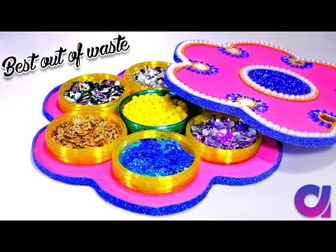 Xxx Mp4 How To Make Multi Storage Boxes From Old Waste Bangles Best Out Of Waste DIY Artkala 185 3gp Sex