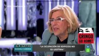 Manuela Carmena vapulea a Ana Pastor. Régimen de España, 14 de junio, 2015
