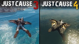 Just Cause 4 vs Just Cause 3 | Direct Comparison