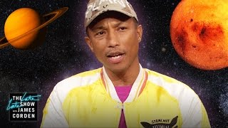 Pharrell Williams Chooses Nat Geo Over Space & Safaris