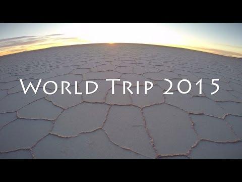 10 Months Around the World GoPro 2015