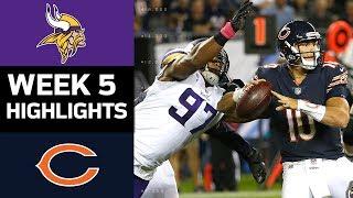Vikings vs. Bears | NFL Week 5 Game Highlights