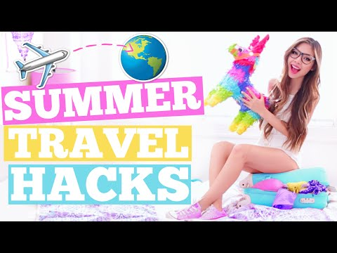 SUMMER Travel Hacks You ll ACTUALLY Use How to Pack A Suitcase
