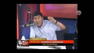 Mainitang Debate Nila Raffy Tulfo At Ng Maangas Na Chief Traffic Enforcer!