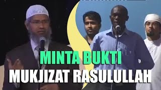 Pemuda Kristen Minta Bukti Mukjizat Nabi Muhammad | Dr. Zakir Naik