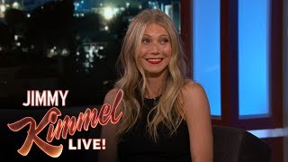 Gwyneth Paltrow Reveals How She Broke Her Foot