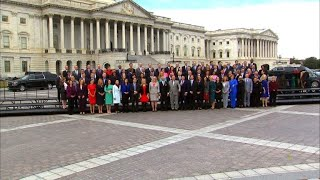Newly-elected US House members pose for photo