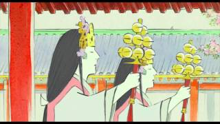 El Cuento de la Princesa Kaguya (2014) JAPANESE ANIME MOVIE Trailer