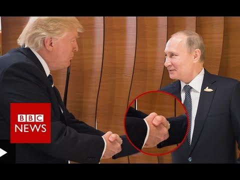 Xxx Mp4 G20 SUMMIT Donald Trump Vladimir Putin Body Language BBC News 3gp Sex