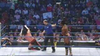 CM Punk vs Booker T ( King Booka )