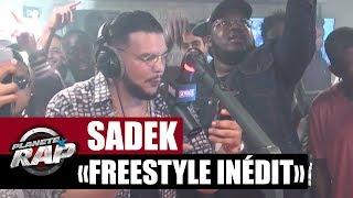 Sadek en freestyle inédit dans #PlanèteRap