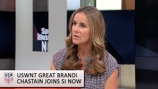 Brandi Chastain discusses the state of U.S. Women