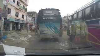 on the way to Noakhali / Bangladesh with GoPro
